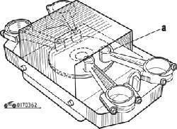 Нагревание на электроплите верхних головок шатунов